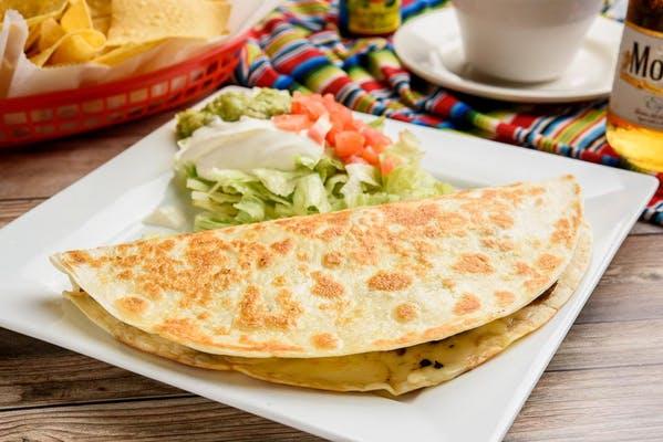 Q6. Camaron (Shrimp) Quesadilla