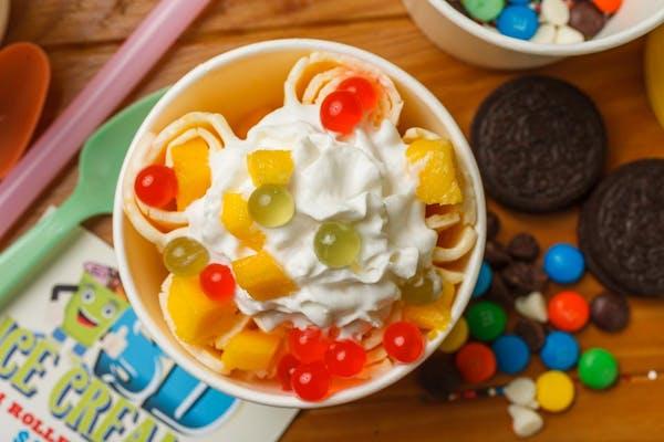 #1 Mango Tango Rolled Ice Cream