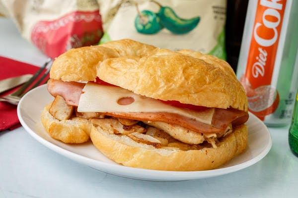 Malibu Chicken Sandwich