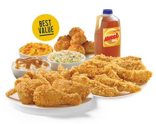9 Pieces Mixed Chicken & 12 Piece Texas Tenders™ Meal