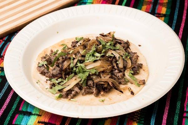Flour Tortilla Taco