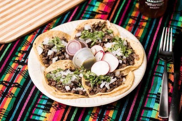 (5) Corn Tortilla Tacos
