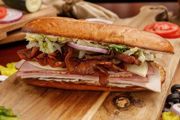 Ham, Bacon & Turkey Sub
