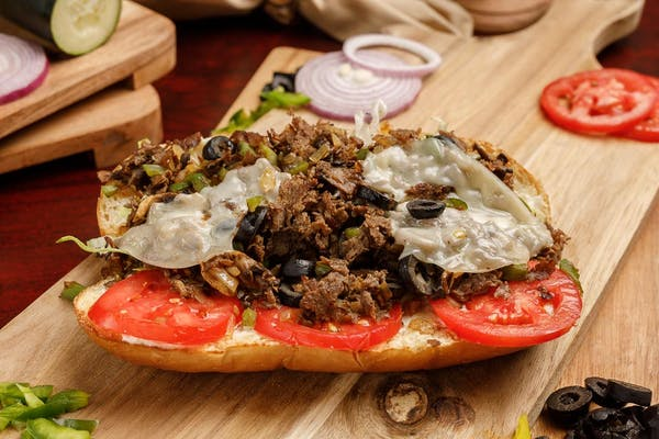 Philly Steak & Cheese Supreme Sub