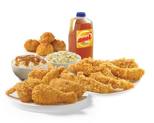 6 Pieces Mixed Chicken & 8 Piece Texas Tenders™ Meal
