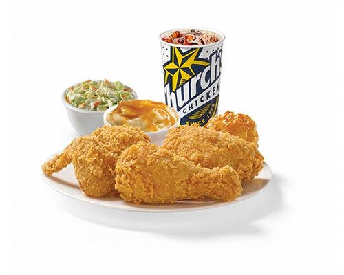 Three Piece Mixed Chicken Combo