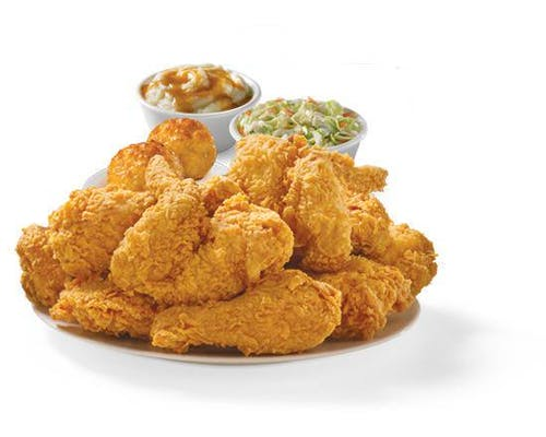 Six Piece Mixed Chicken Meal