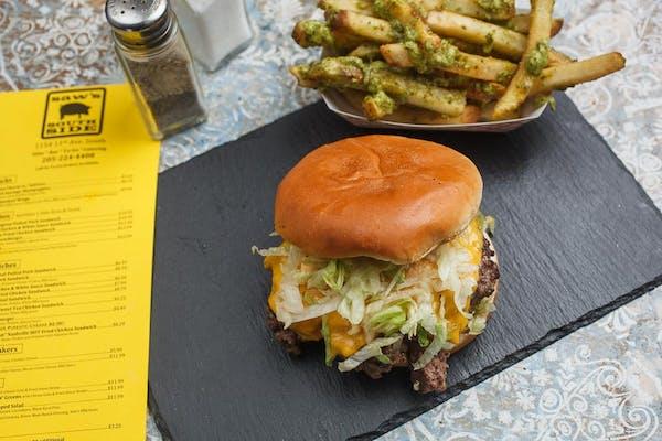 Saw's Cheeseburger Combo