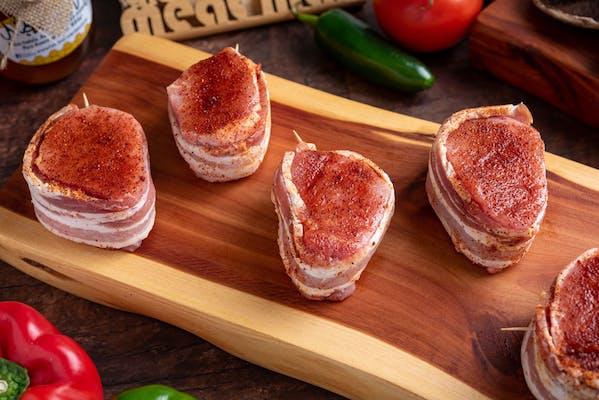 Bacon-Wrapped Pork Medallion