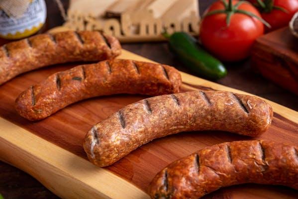 Cherrywood-Smoked Jalapeño & Cheddar Chicken Links