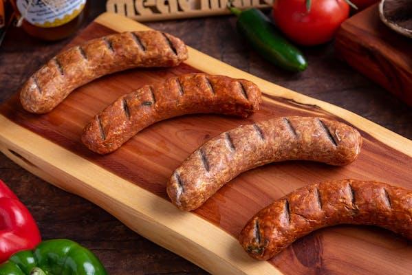 Smoked Jagdwurst (Hunter's Sausage) Links