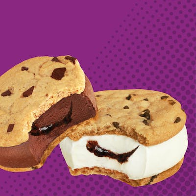 Novelties Frozen Yogurt Sandwiches (Box of 4)
