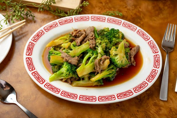 M40. Beef with Broccoli