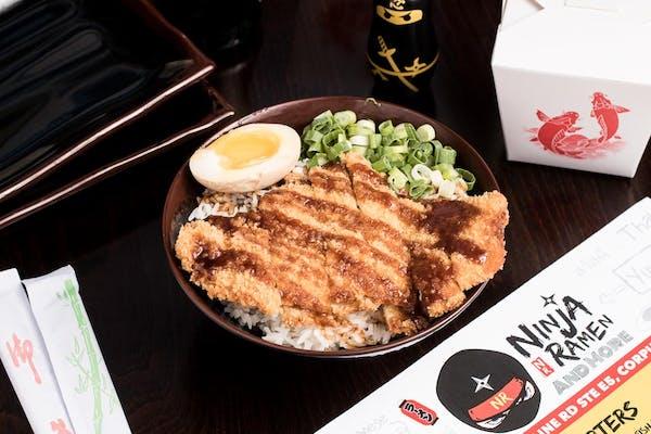 Don2.  Katsu Chicken Don