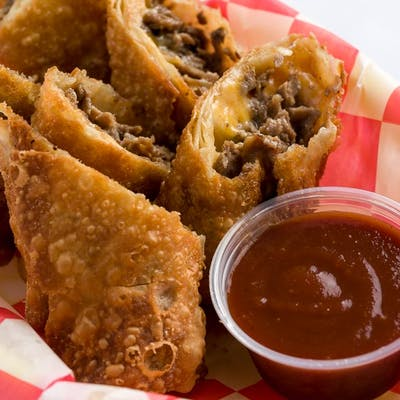 Steak & Cheese Egg Rolls