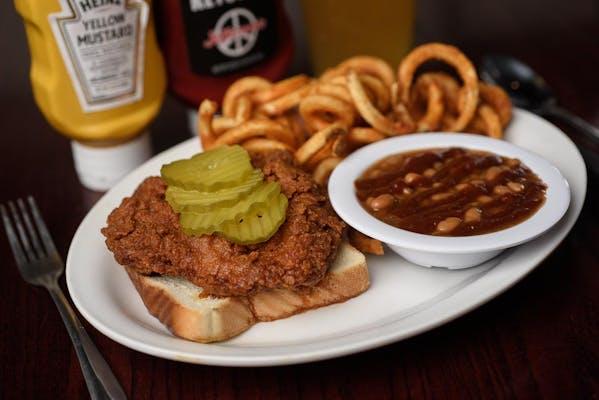 Nashville Hot Chicken Platter