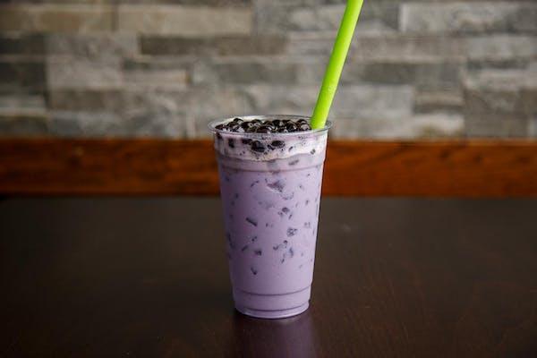 Taro Milk Green Tea