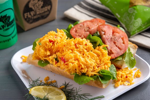 Dressed Pimento Cheese Sandwich