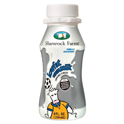 Shamrock Farms Lowfat Milk