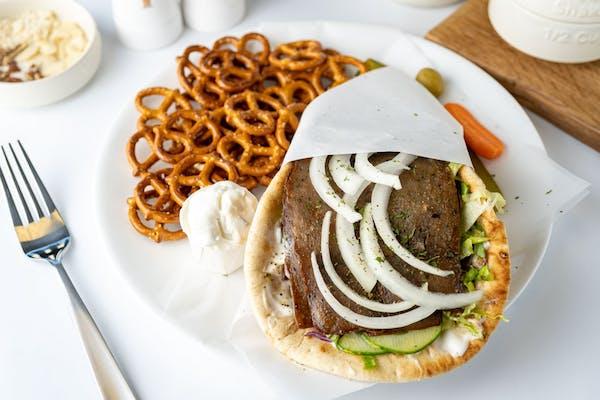 Gyro Tzatziki Sandwich