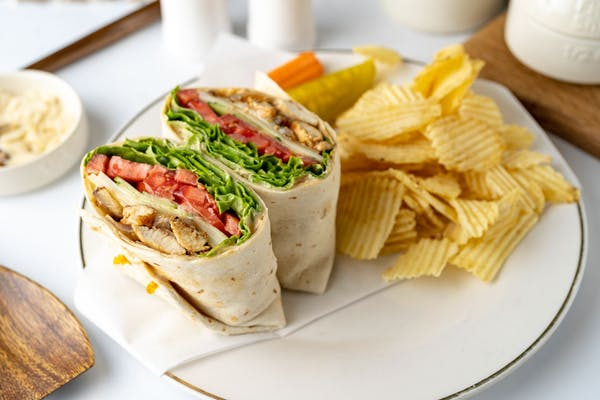 Grilled Chicken Wrap Coca-Cola Combo