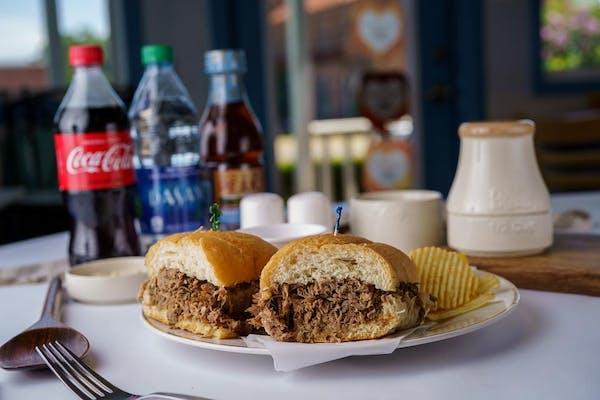 Queen Royal Roast Beef Wrap Coca-Cola Combo