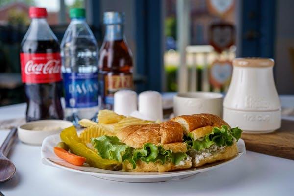 Chicken Salad Sandwich Coca-Cola Combo
