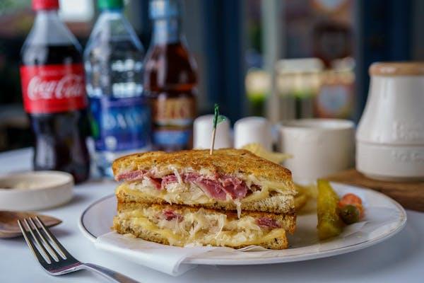 Old Fashioned Reuben Sandwich Coca-Cola Combo
