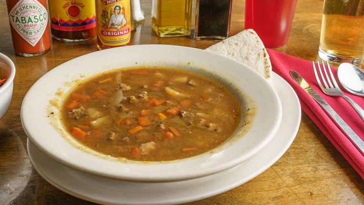 Santa Fe-mous Green Chile Beef Stew