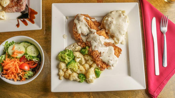 Free-Range Fried Chicken Plate