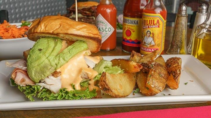 Boxcar Club Sandwich