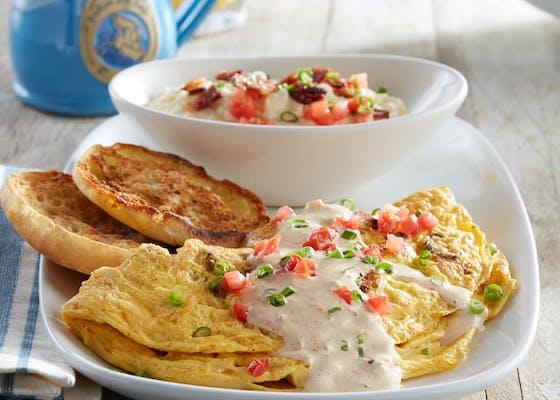 Mardi Gras Omelette
