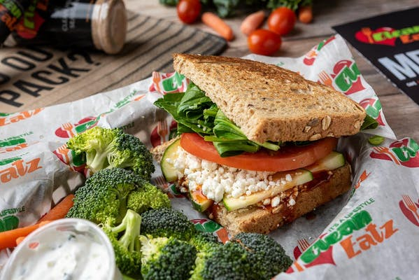Grilled Goat Cheese Sandwich