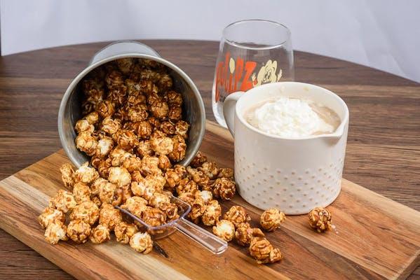 Vanilla Latte Popcorn