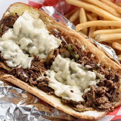 3. Philly Cheese Steak Sandwich