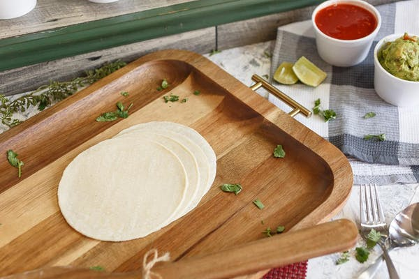 4x Small Flour Tortillas