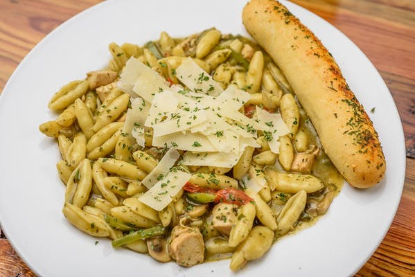 Basil Chicken Cavatelli