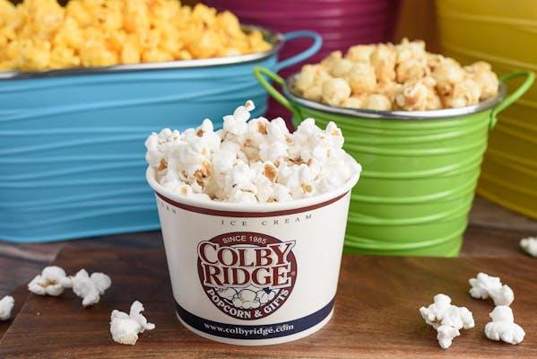 Gourmet White Half-Salt Popcorn