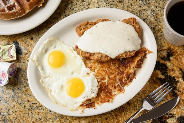 Country-Fried Steak Breakfast