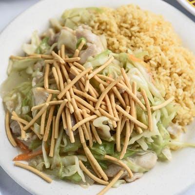 A1. Chicken Chow Mein Platter