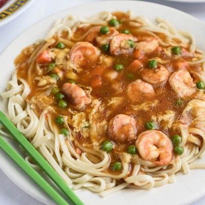 A18. Shrimp & Lobster Sauce Platter