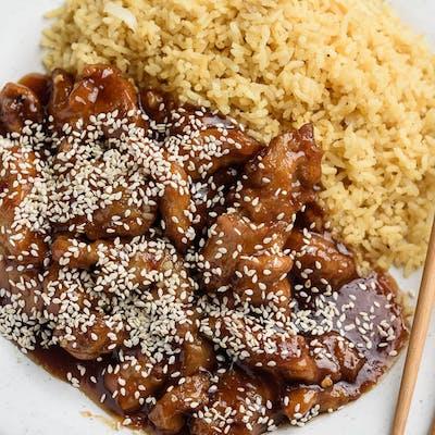 Sesame Chicken Platter