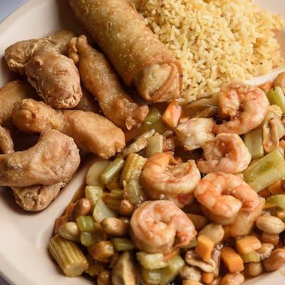 C15. Kung Pao Shrimp & Chicken Combo