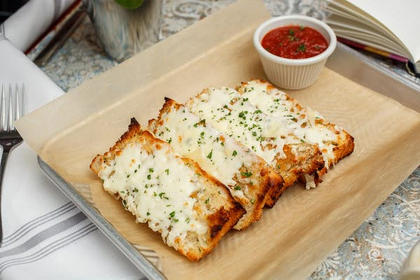 Cheesy Garlic Focaccia