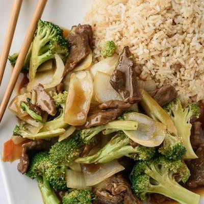 A2. Broccoli Beef Platter