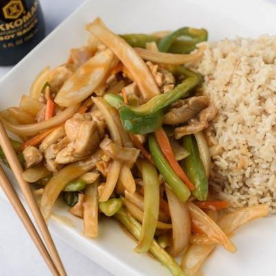 A5. Spicy Chicken Platter