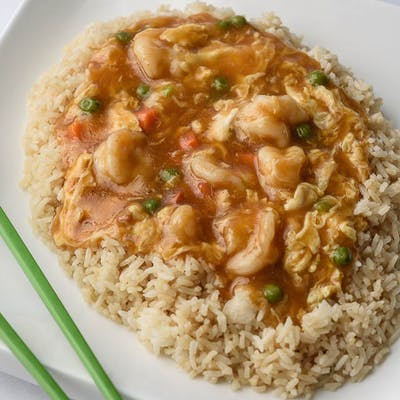 A16. Shrimp & Lobster Sauce Platter
