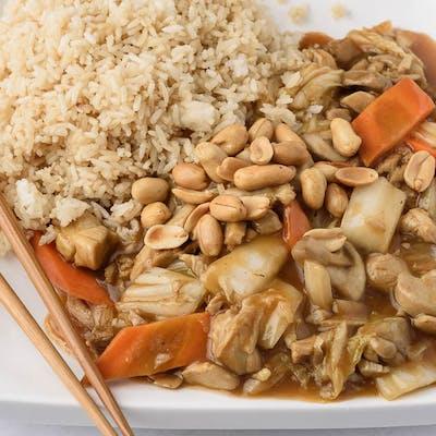 A19. Kung Bao Chicken Platter
