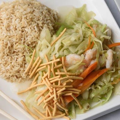 C11. Shrimp Chow Mein Combination