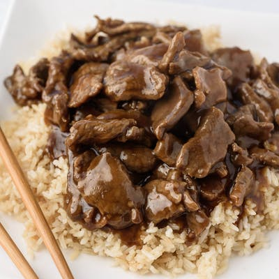 C17. Steak & Rice Combination